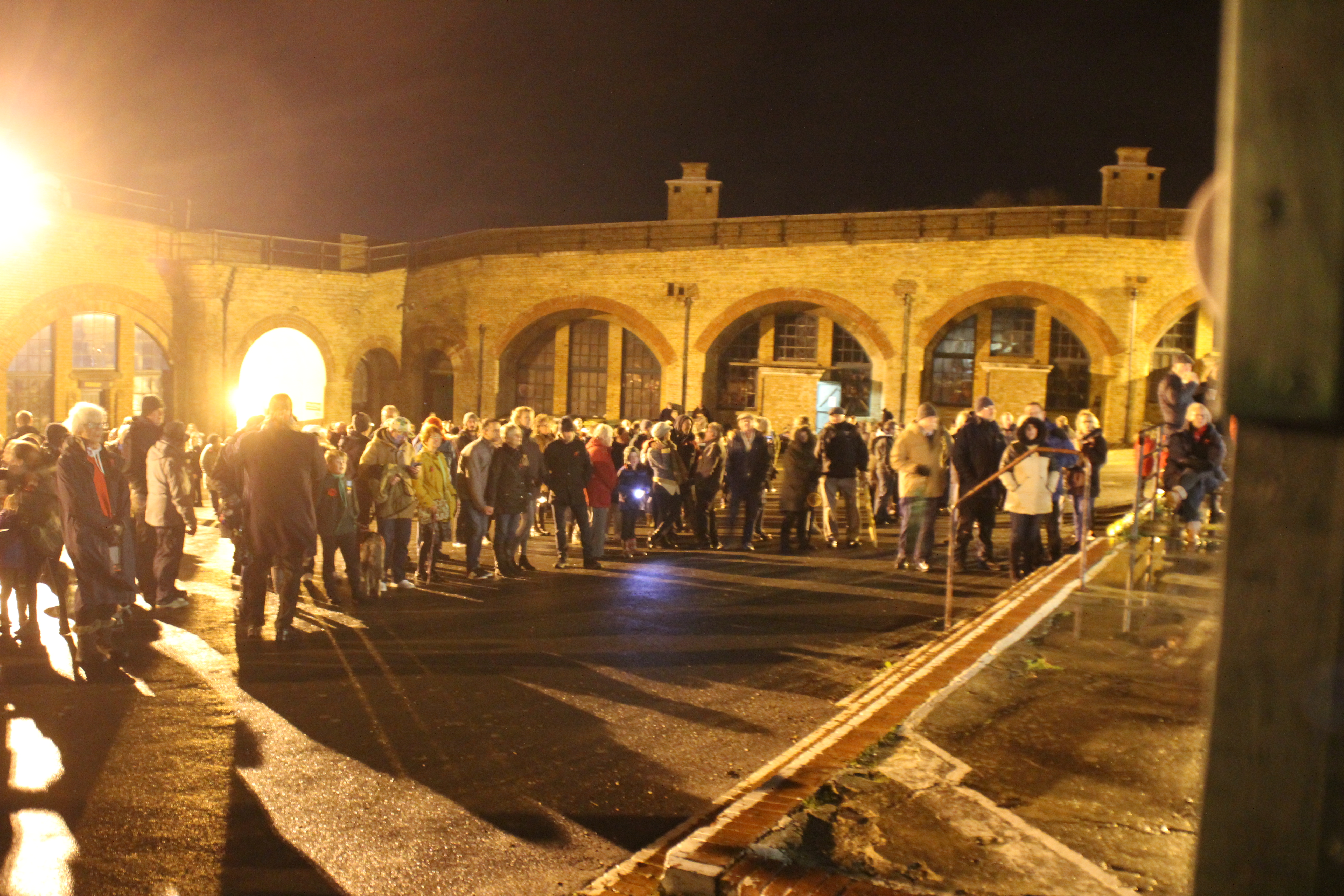 Battle S Over Beacon Lighting Event Newhaven Town Council